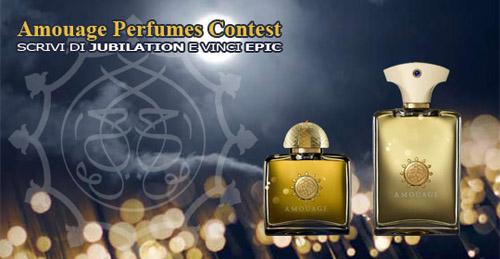 Update Amouage Perfumes Contest. I nomi dei vincitori