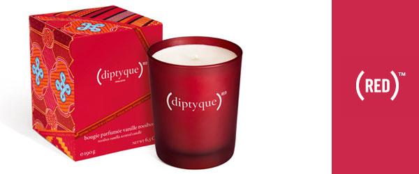 Diptyque Red. Una candela in aiuto dell'Africa