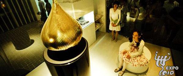 Un laboratorio del profumo all'Expo 2010 Shangai