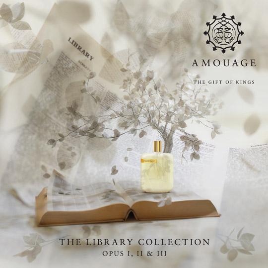 The Library Collection di Amouage. Finalmente anche in Italia