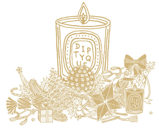 Il Natale di Diptyque profuma di Pin, Orange Epicée e Oliban