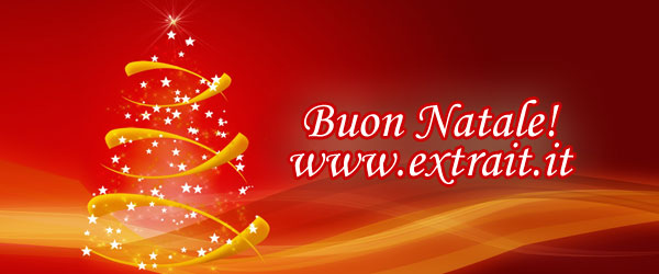 Tantissimi Auguri di Buon Natale e Buone Feste a Tutti Voi!!!