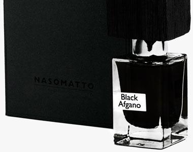 E' arrivato un bastimento carico di Black Afghano nella profumeria Fragranze d'Autore