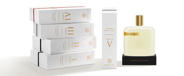 Opus V di Amouage. Il profumo nell'era digitale