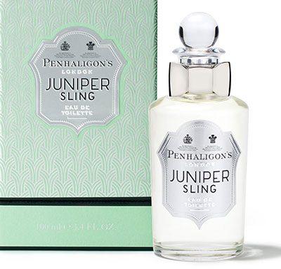 Juniper Sling. Il profumo ad alto tasso alcolico firmato Penhaligon's