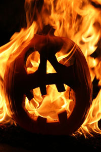 Festeggiare Halloween fuori dalla mischia