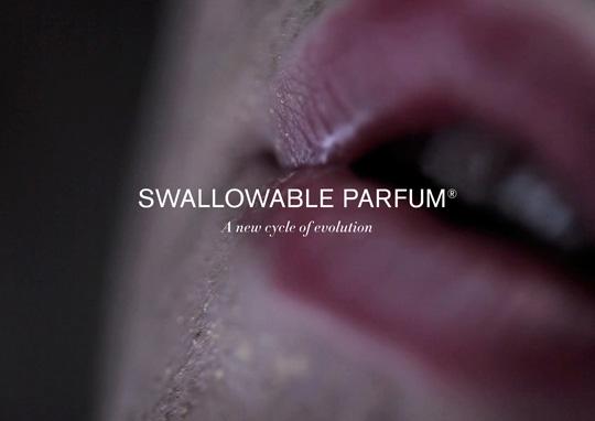 Swallowable Parfum. Arrivano i profumi digeribili