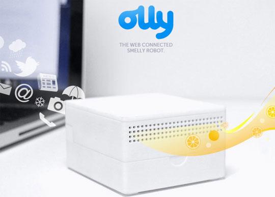 Arriva Olly, il robot che solletica il naso degli Utenti dei Social Network