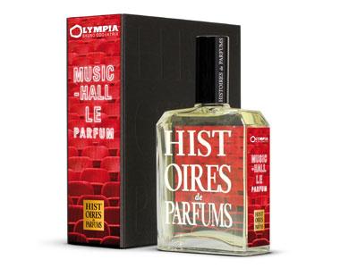 L'Olympia. Il profumo sale sul palcoscenico di Histoires de Parfums