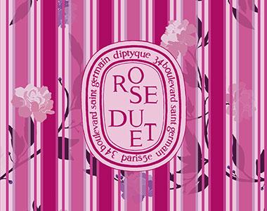 Rose Duet. Diptyque in Love