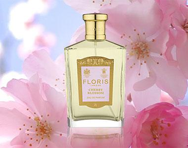 Cherry Blossom for Woman di Floris. Anticipi di Primavera