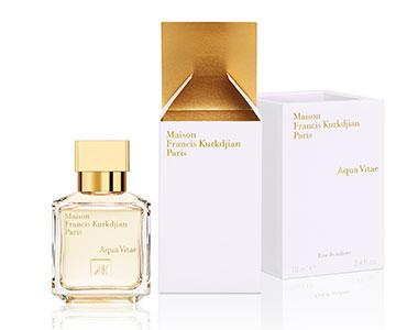 Aqua Vitae di Maison Francis Kurkdjian. Un profumo che odora di vita