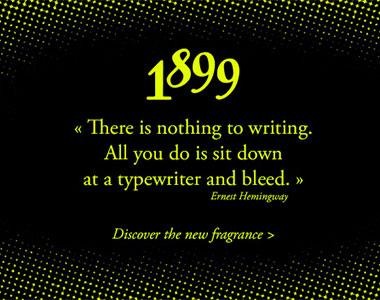 1899 Hemingway ~ Histoires de Parfums (Perfume Review)