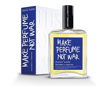 Make Perfume Not War, un profumo dal cuore grande