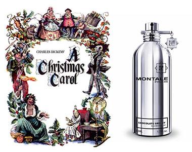 Profumo di Chocolate Greedy (Montale) in Canto di Natale (Charles Dickens)