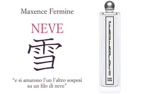 L'Eau Froide (Serge Lutens) diventa un haiku di Neve (Maxence Fermine)