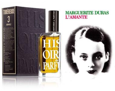 Tubereuse 3 Animale (Histoires de Parfums) incontra L'Amante (Marguerite Duras)