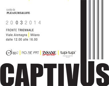Angelo Orazio Pregoni fuori dalla Triennale con la performance CAPTIVUS
