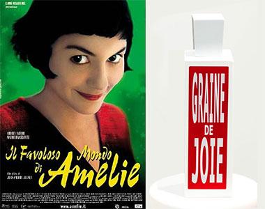 Graine de Joie. Eau d'Italie nel favoloso mondo di Amélie Poulain