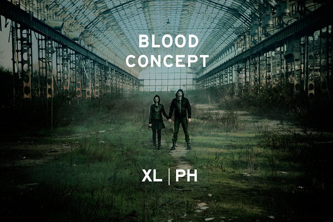 xl ph blood concept