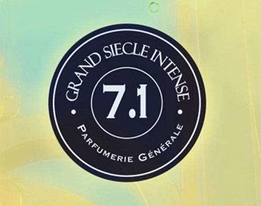 PG 7.1 Grand Siecle Intense. Per Parfumerie Generale la freschezza ha un profumo intenso
