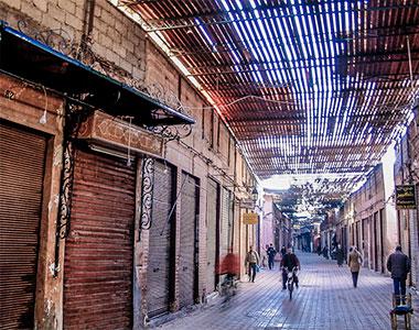 A Marrakech anche il vento ha un odore. Meo Fusciuni