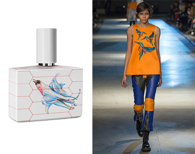 Scent in Vogue #2 Eau Radieuse Humiecki & Graef, Giles Deacon A/I 2014-2015