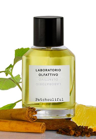 laboratorio olfattivo patchouliful