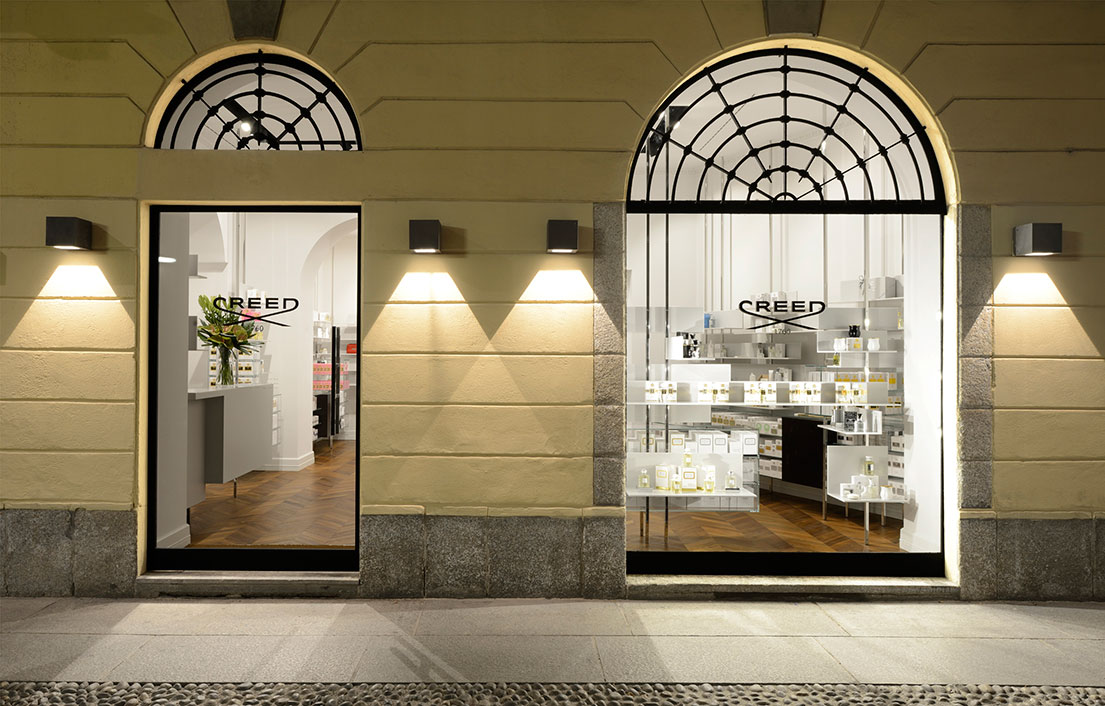 boutique creed milano