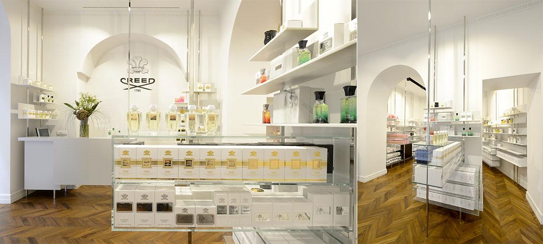 boutique creed profumi brera