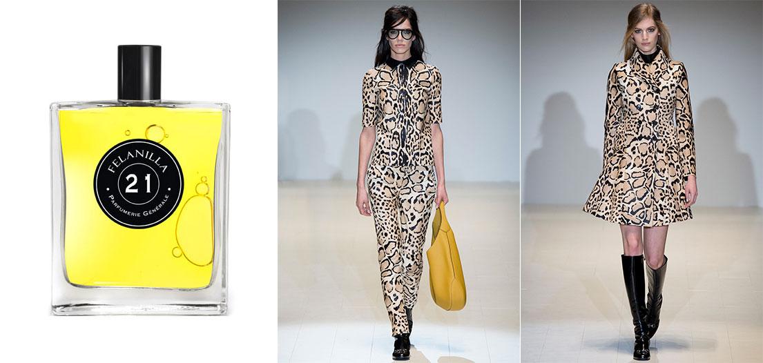 PG21 Felanilla Parfumerie Generale, Gucci A/I 2014-2015. Crediti Style.com