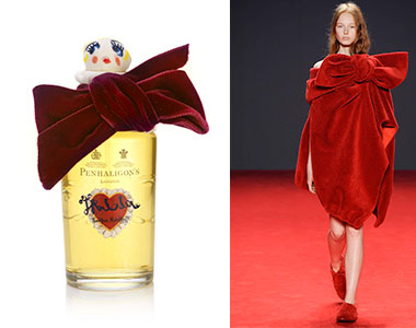 Scent in Vogue #4 Tralala Penhaligon's, Viktor & Rolf Haute Couture A/I 2014-2015