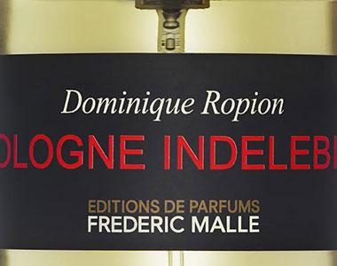 Cologne Indelebile. Dominique Ropion crea un ossimoro olfattivo per Frederic Malle