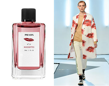 Scent in Vogue #5 Rossetto N.14 Prada, MSGM A/I 2014-2015