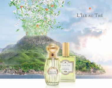 L'Ile au Thé. Un'esplosione di note verdi per la nuova fragranza di Annick Goutal