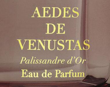 Palissandre d'Or. Aedes de Venustas esplora l'impero delle cortecce nobili