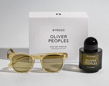 Oliver Peoples. Il profumo fotocromatico di Byredo