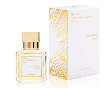"Aqua Vitae forte. La ""golden hour"" di Maison Francis Kurkdjian"
