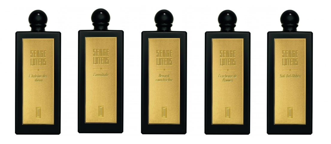 profumi serge lutens section d'or