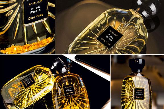 La scia luccicante di Atelier Des Ors risplende da Profumeria Gini