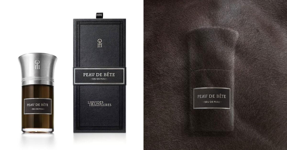 peau de bete liquides imaginaires doma lo spirito animalico del profumo extrait. Black Bedroom Furniture Sets. Home Design Ideas