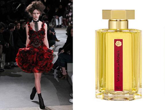 Scent in Vogue #10 L'Artisan Parfumeur, Alexander McQueen A/I 2015-2016
