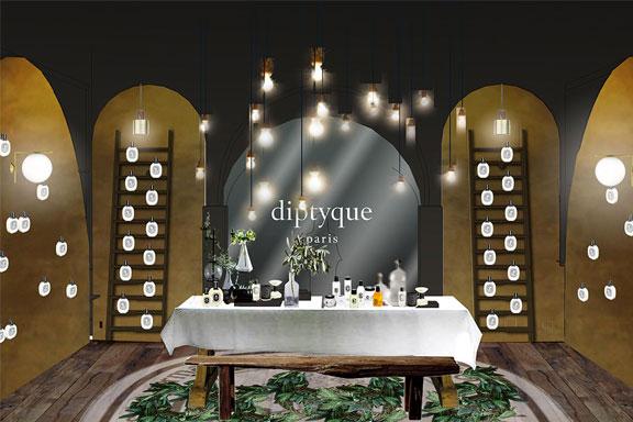 Diptyque raddoppia in Italia. L'iconico brand parigino apre un temporary store a Roma