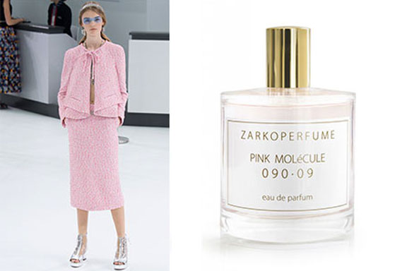 Scent in Vogue #12: Pink Molécule 090.09 ZarkoPerfume, Chanel P/E 2016