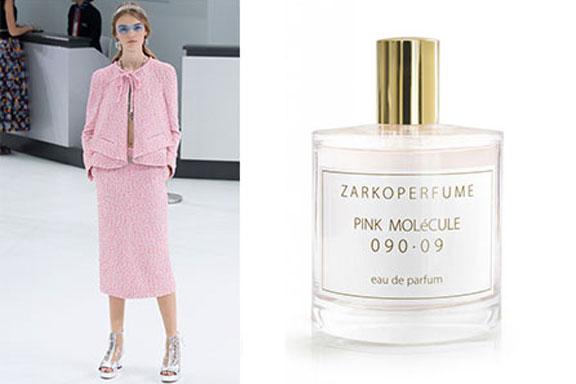 Scent in Vogue #12: Pink Molécule 090.09 ZarkoPerfume, Chanel P/E 2016