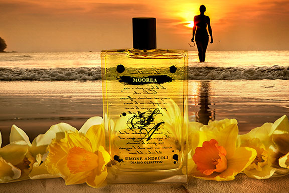 Moorea. Il paradiso della Polinesia ispira la sesta fragranza di Simone Andreoli