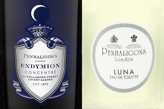 Endymion Concentré e Luna. Una mitica storia d'amore in casa Penhaligon's