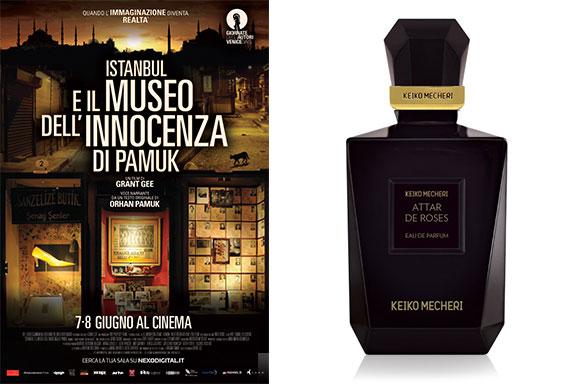Attar de Roses (Keiko Mecheri) nelle scene di Istanbul e il Museo dell'Innocenza di Pamuk (Grant Gee)