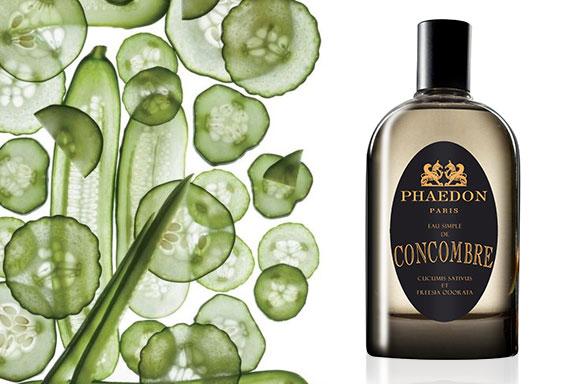 eau de simple de concombre