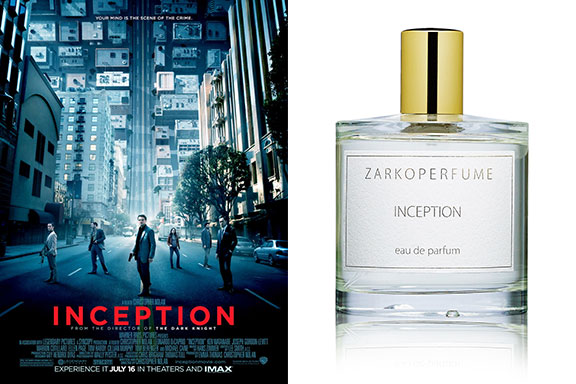 Inception (ZarkoPerfume) distilla la trama dell'omonimo film di Christopher Nolan. Un sogno chiamato profumo